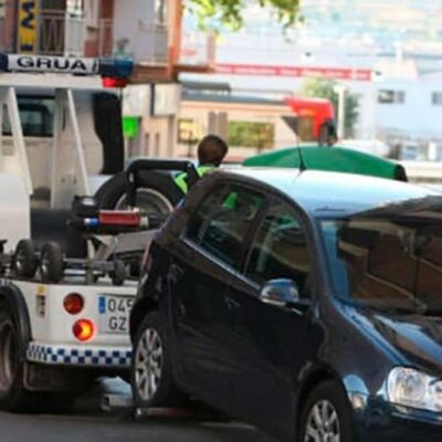 Car impounded in Spain